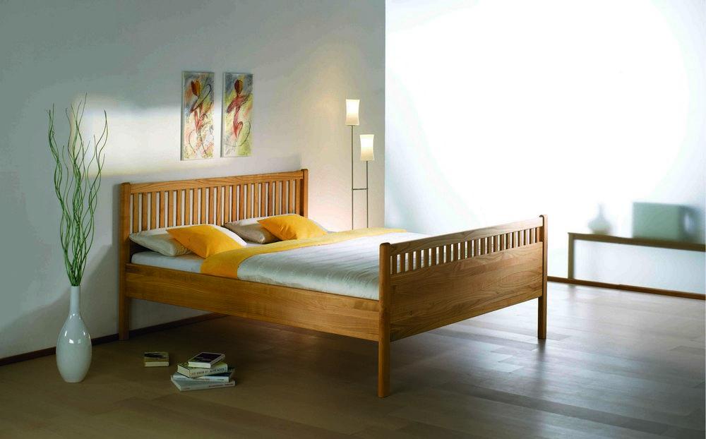 Nussbaum Bett mit gut stil für ihr haus design ideen