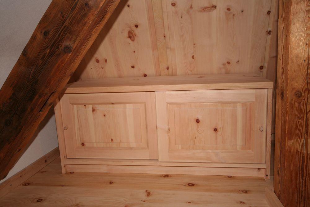 Zirbenholz schlafzimmer gsund schlafen und wohnen loferer for Sideboard zirbenholz