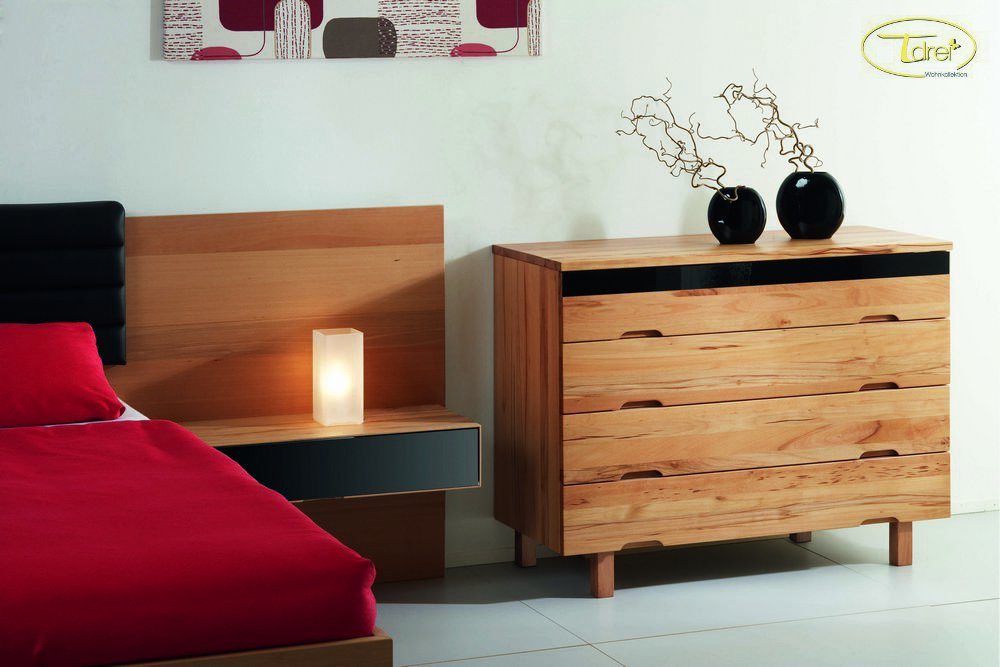 holzbetten von gsund schlafen und wohnen loferer aus. Black Bedroom Furniture Sets. Home Design Ideas