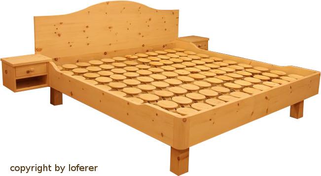Bett Zirbenholz mit perfekt stil für ihr haus design ideen