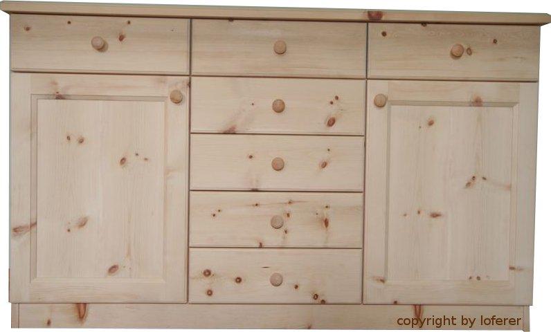 Schlafzimmer zirbe walchensee komplette schlafzimmer aus for Kommode zirbenholz
