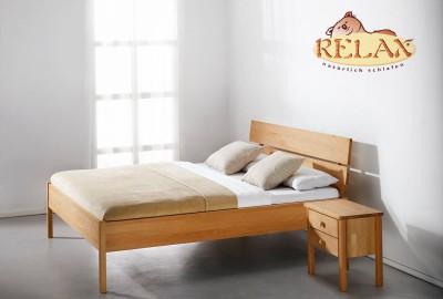 Relax Bett Buche Solid