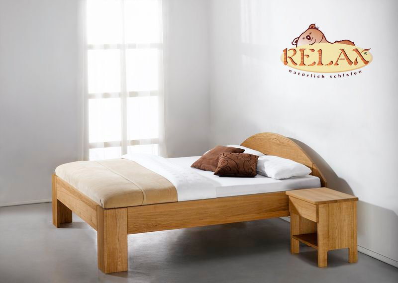 Relax Bett Buche Fiori rund