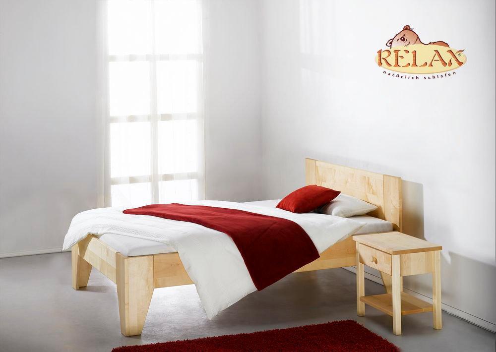 Relax Bett Fiori Ahorn