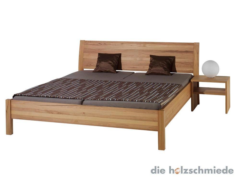 bett swing in kernbuche massiv bei schreinerei loferer in. Black Bedroom Furniture Sets. Home Design Ideas