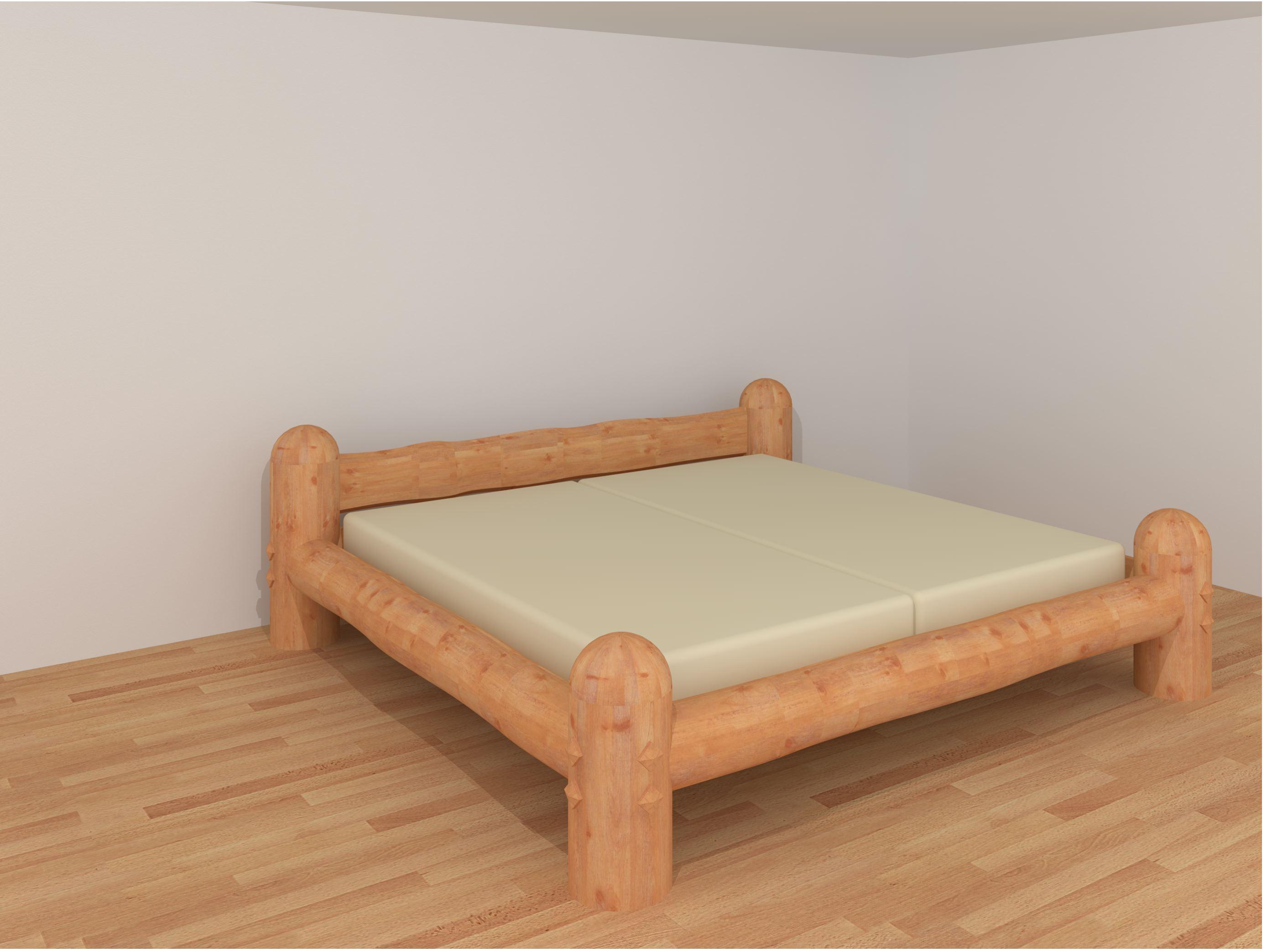 Balkenbett Rundholz Relax Bettsysteme Relax 2000 Loferer