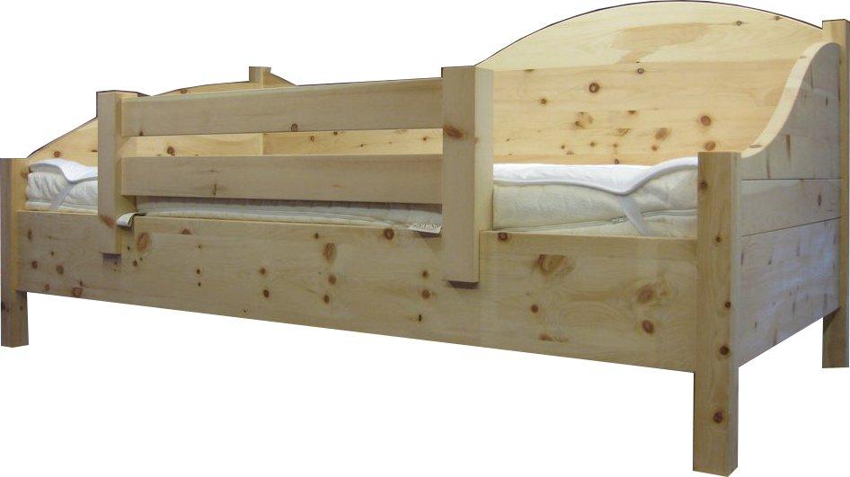 kinderbett zirbe von der schreinerei loferer in sufferloh bei holzkirchen. Black Bedroom Furniture Sets. Home Design Ideas