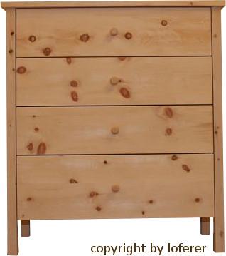 Zirbenholz schlafzimmer alpsee komplette schlafzimmer aus for Kommode zirbenholz