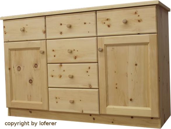 Zirbenholz schlafzimmer mittersee komplette schlafzimmer for Kommode zirbenholz