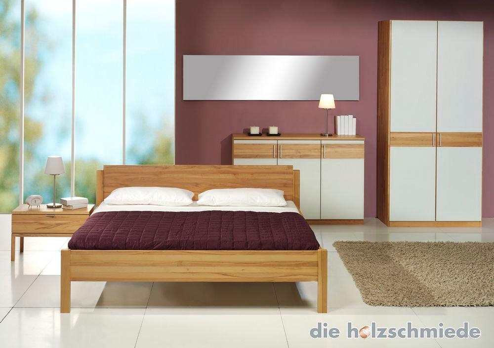 Bett Basis mit Schrank und Kommode