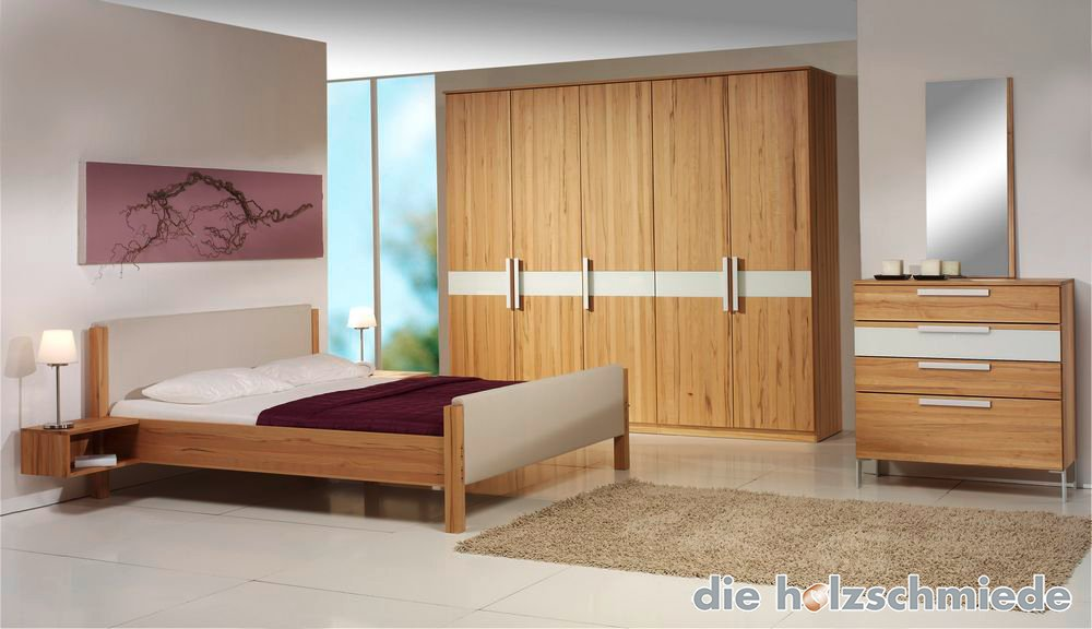 bett skala in buche mit leder kombiniert bei schreinerei. Black Bedroom Furniture Sets. Home Design Ideas