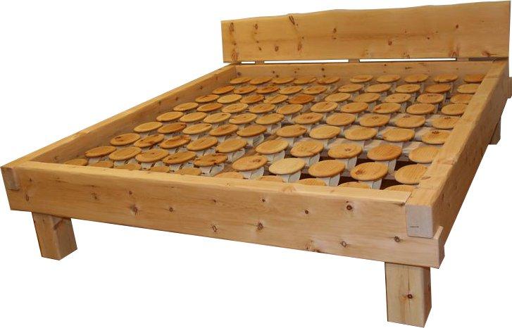 Balkenbett zirbe  Balkenbett Zirbe Chris - Relax Bettsysteme, Relax 2000, Loferer ...