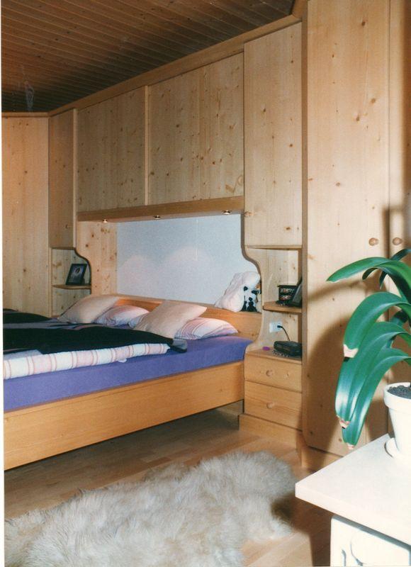 Schlafzimmer in Fichte