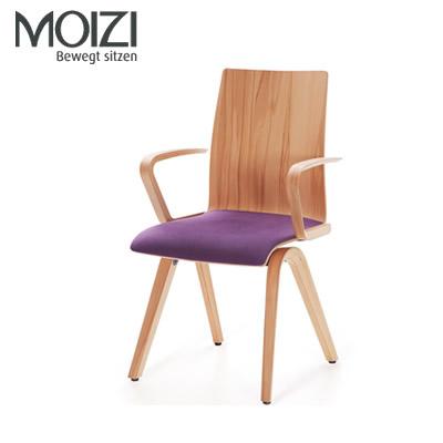 Moizi 40 Mit Holzrücken und Armlehnen
