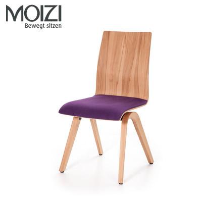 Moizi 40 mit Holzrücken ohne Armlehnen