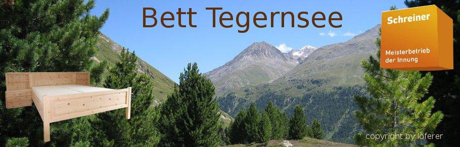 Bett Tegernsee