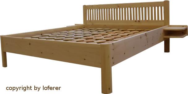 Bett aus Zirbenholz München