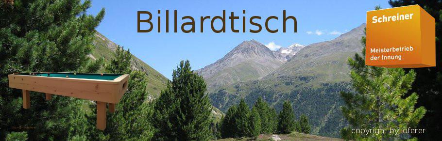 Billardtisch