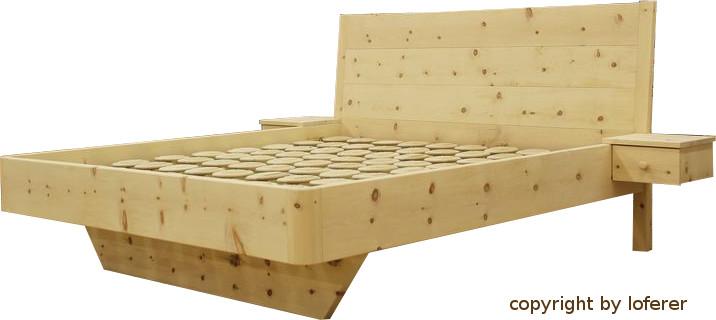 bett zirbenholz relax bettsysteme relax 2000 loferer. Black Bedroom Furniture Sets. Home Design Ideas