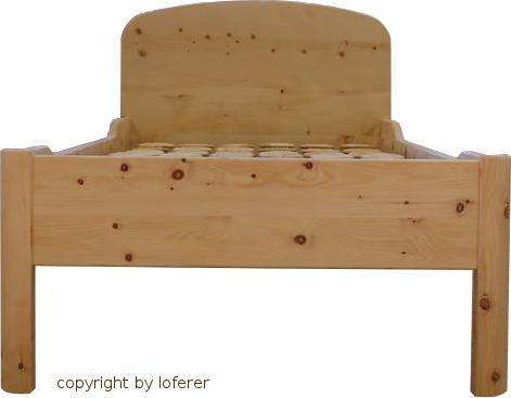 Zirbelkiefer Bett