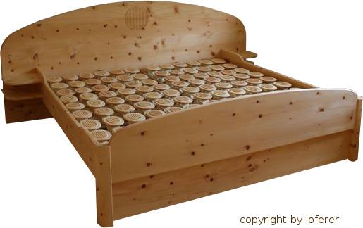 Zirbenholz Schlafzimmer, Fertigung von der Schreinerei aus ...